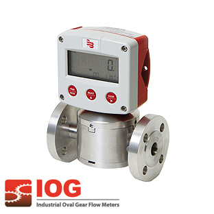 Precision oval gear meter series IOG® 1""