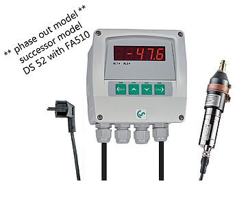 Dew point measurement DS 52-set for adsorption dryers