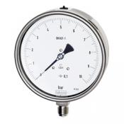 Bourdon tube pressure gauge, precision instrument